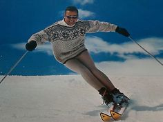 Looking like Stein Ericksen was everybody's goal.  This guy does a great job!  Plus, as a former distributor of Kneissl, I love the skis!!