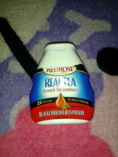 Red Rose Real Tea Premium Water Enhancer. @Influenster #Univoxbox #realtea