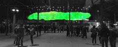 Intervención en Terminal Goes, Especies de Espacios / Taller Danza