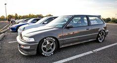Honda Civic Hatchback Kanjo Style #BosMobil