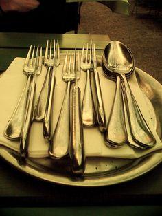 cutlery - taken in Vienna