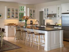 Shingle Style kitchen interior