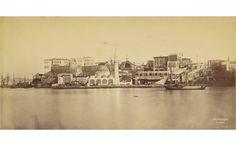 Porte de la Canee, (Chania port)..Crete...1860's