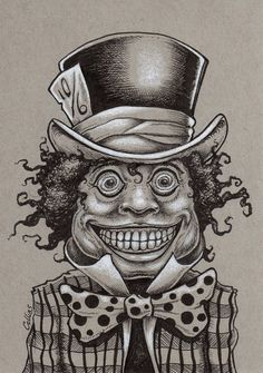 ALICE IN WONDERLAND - THE MAD HATTER BY BRYAN COLLINS