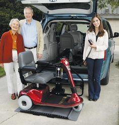 Eureka Solutions - Joey Vehicle conversion Adaptation automobile  1-866-562-2555