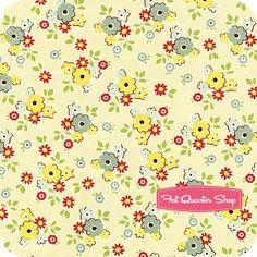 Sidewalks Cream Small Floral Yardage SKU# C3482-CREAM