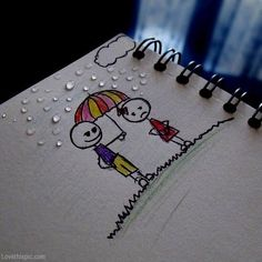 under the same umbrella