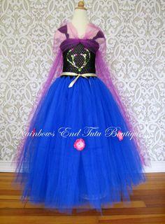 Frozen Anna Tutu Dress Sizes 1218m 1824m 2t By Whererainbowsend1 4900