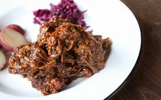 The Hungry Hounds— Flemish Beer Braised Beef & Onions, Carbonnade de Boeuf