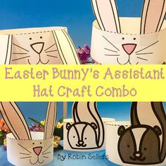 Printable Easter Crafts to go along with The Easter Bunny'd Assistant