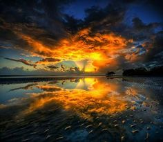 awesome sunset <3