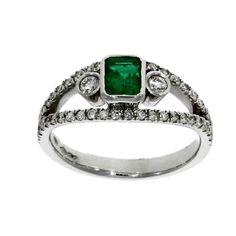 Platinum, emerald &