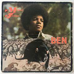 Michael Jackson Ben Soundtrack LP Vinyl Record Album Motown