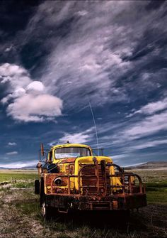 Rusted Yellow Truck. Source Facebook.com