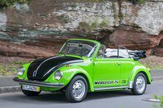 """VW Käfer Cabrio Sondermodell """"World Cup '74"""" - Bilder - autobild.de"""