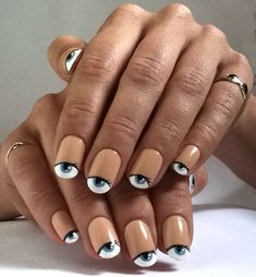uneedamanicure: You're Everything That I See love #nail #nailart #manicure #polish