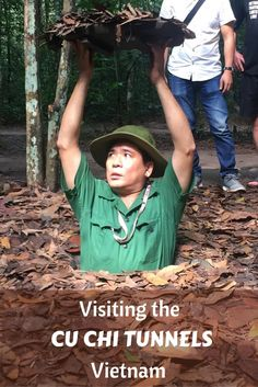 The Cu Chi Tunnels in Vietnam are a major Saigon tourist attraction. Visiting the Cu Chi Tunnels is a fascinating glimpse into life during the Vietnam War.