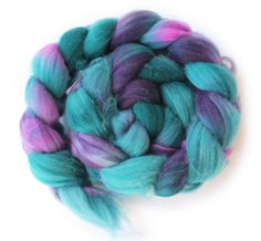 Superwash Merino Wool Roving for Spinning -  Hand Painted - Mermaid Song - 4oz / 113g on Etsy, $20.57 AUD