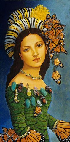 "Lea Bradovich - Gallery 1/ I call her ""The Mother of Butterflies"" even though I don't know the name."