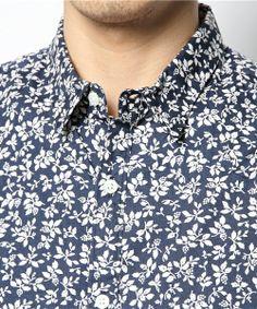 BEAMS(ビームス)のBEAMS / 小花柄プリント 7分袖シャツ(シャツ・ブラウス) 詳細画像
