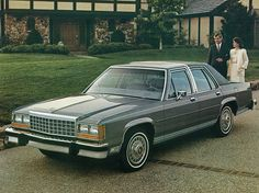 What an American classic! 1986 Ford LTD Crown Victoria American Classic Cars, Ford Classic Cars, Best Classic Cars, Ford Motor Company, Ford Ltd, Lux Cars, Ford Lincoln Mercury, Old Fords, Car Advertising