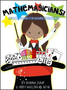 Math Games for Kindergarten and First Grade Developing Num