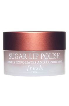 For super smooth, kissable lips tonight, gently exfoliate dry skin with this yummy tasting scrub this morning.