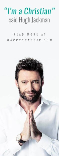 Hugh Jackman, who will soon play the Apostle Paul in a new epic-drama, has now declared himself a Christian...