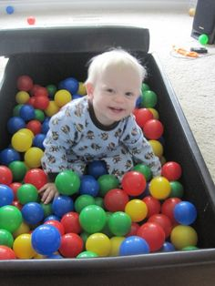 turn your pack n play into a ball pit