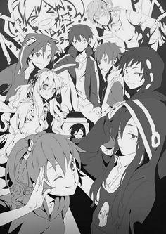 You got to hear the PVs involved with this manga and anime. Some are Imaginary Forest, Kagerou Days, Ayano's Theory of Happiness, and Yobanashi Deceive. // Manga: Kagerou Daze; Anime: Mekaku City Actors