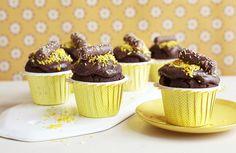 Påskemuffins Mini Cupcakes, Muffins, Cookies, Desserts, Food, Crack Crackers, Tailgate Desserts, Muffin, Deserts