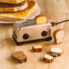With these tasty looking USB drives, you can keep your files toasty and organised, whether it's breakfast time or not