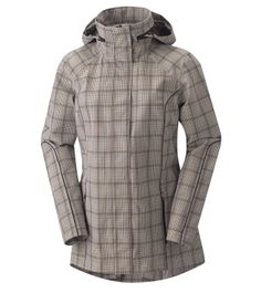 Rain Shelter Barn Jacket This jacket is cute and functional! The perfect companion for the rough-riding, fast striding cowgirl... www.anytimetack.com