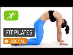 Esta aula de pilates online vai tonificar e enrijecer os músculos do seu interno de coxas, perna e abdômen. São vários exercícios adaptados do método mat pil...