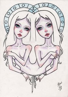 gemini by BlackFurya.deviantart.com on @DeviantArt