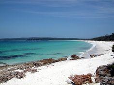 La Playa más blanca del mundo, en Australia (Hyams Beach)