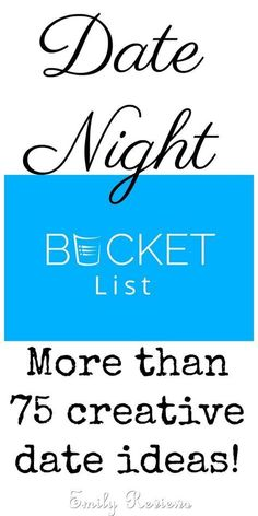 Hookup divas date night bucket list