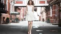 Maria by Konstantin Kryukovskiy - Photo 73390577 - Street Portrait, Female Poses, Pretty Face, Beauty Women, Nice Dresses, Beautiful People, White Dress, Street Style, Elegant