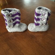 Newborn Baby Booties for Jennifer