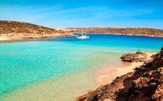 Les plus belles plages de Méditerranée - Lagon de Comino, Malte
