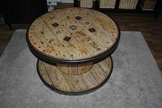 1000 images about holz kabeltrommel tisch on pinterest. Black Bedroom Furniture Sets. Home Design Ideas