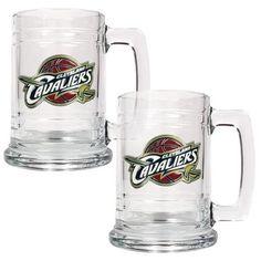 Cleveland Cavaliers Set of 2 Beer Mugs