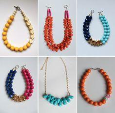 Zolie Designs bold statement necklaces