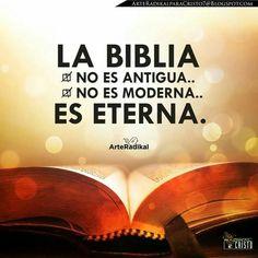 « La Biblia no es antigua, ni moderna... Es eterna ». — Martín Lutero