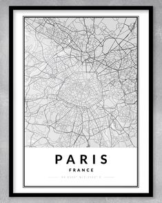 This contemporary and minimalistic map print (A3) is perfect for the home or office, or even as a gift! As this is an instant download, you will be purchasing exactly what you see. We can also create custom maps of any place in the world. Just send us a message!  DIGITAL DOWNLOAD ONLY (NO PRINT OR FRAME INCLUDED) - WE WILL MESSAGE YOU WITH YOUR DOWNLOADABLE FILE WHEN IT IS READY. Paris Map, Paris City, Personalized Engagement Gifts, One Year Anniversary Gifts, Map Shop, Gsm Paper, Custom Map, A3, Digital Prints