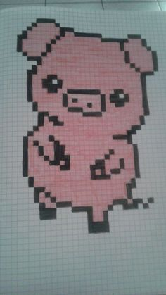 pixel art - Page 2 Cross Stitch For Kids, Cross Stitch Cards, Image Pixel Art, Modele Pixel Art, Pixel Drawing, Graph Paper Art, Pix Art, Pixel Art Templates, Anime Pixel Art