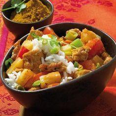 Indische Hackfleisch-Curry-Pfanne Rezept | Weight Watchers