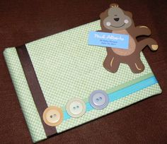 Baby Shower Guest Book. • Libro de firmas para baby shower.
