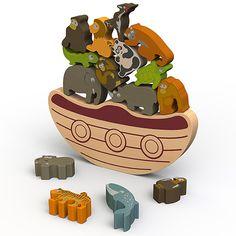 Balance Boat Endangered Animals by BeginAgain - $32.95