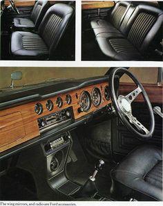 1970 Ford Cortina 1600E interior
